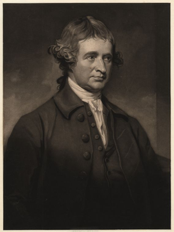 Fascinating Historical Picture of Edmund Burke in 1790