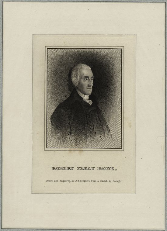 Fascinating Historical Picture of Robert Treat Paine in 1823