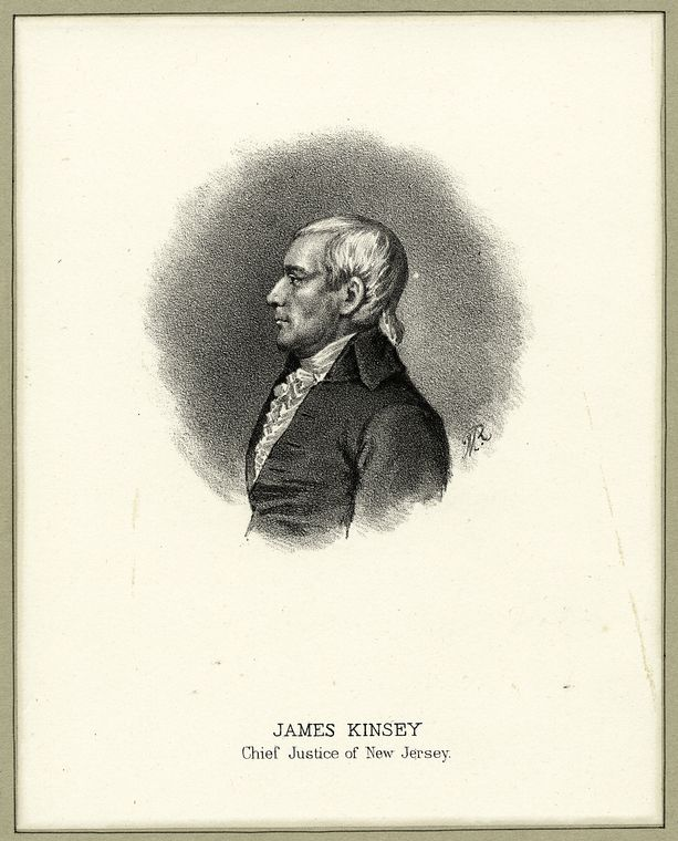 Fascinating Historical Picture of James Kinsey in 1885