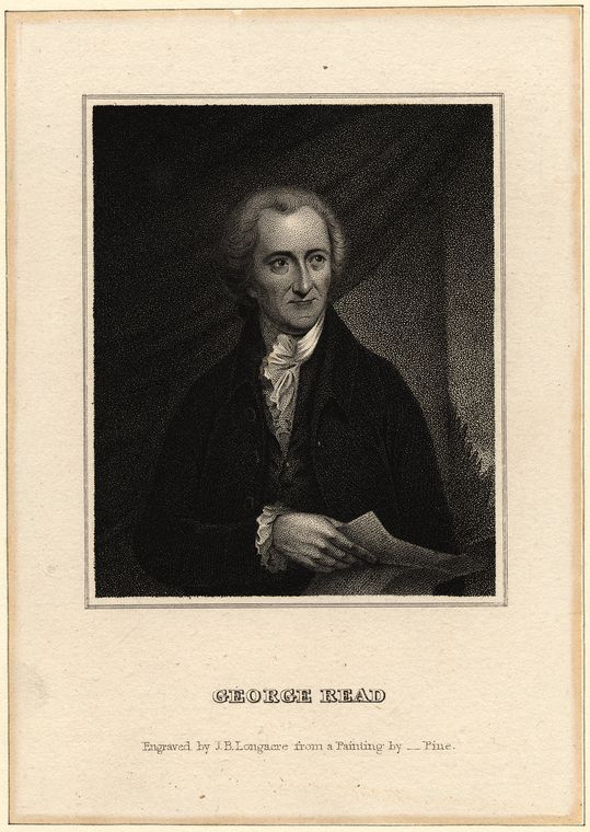 Fascinating Historical Picture of George Read in 1820