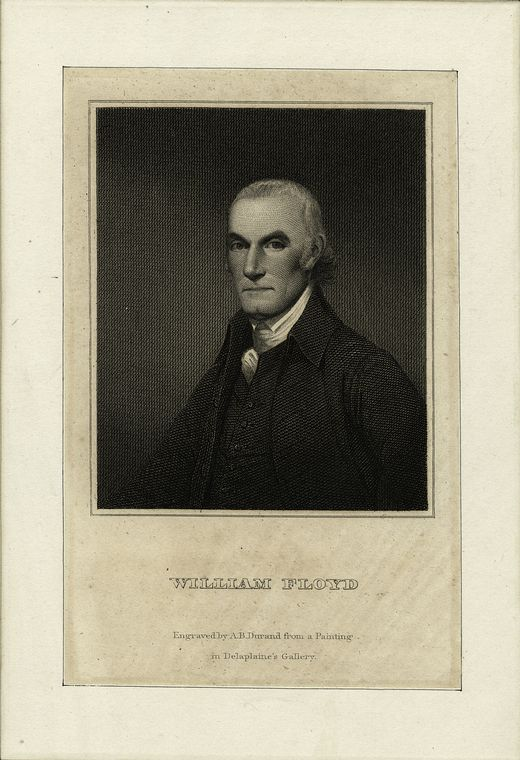 Fascinating Historical Picture of William Floyd in 1783