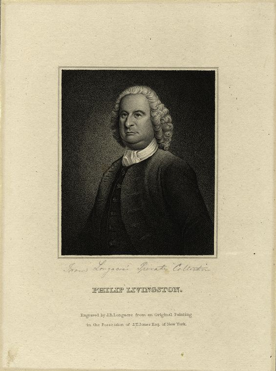 This is What Philip Livingston Looked Like  in 1823
