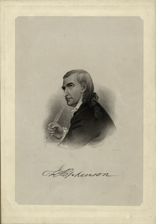 Fascinating Historical Picture of Francis Hopkinson in 1808