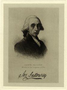 Joseph Galloway, member of the Congress of 1774.