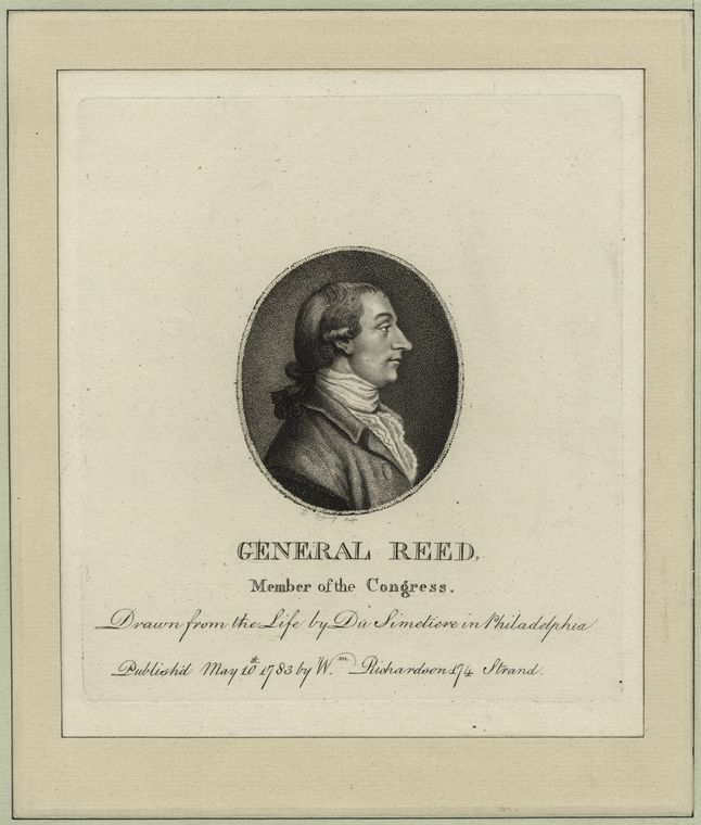 Fascinating Historical Picture of Joseph Reed in 1798