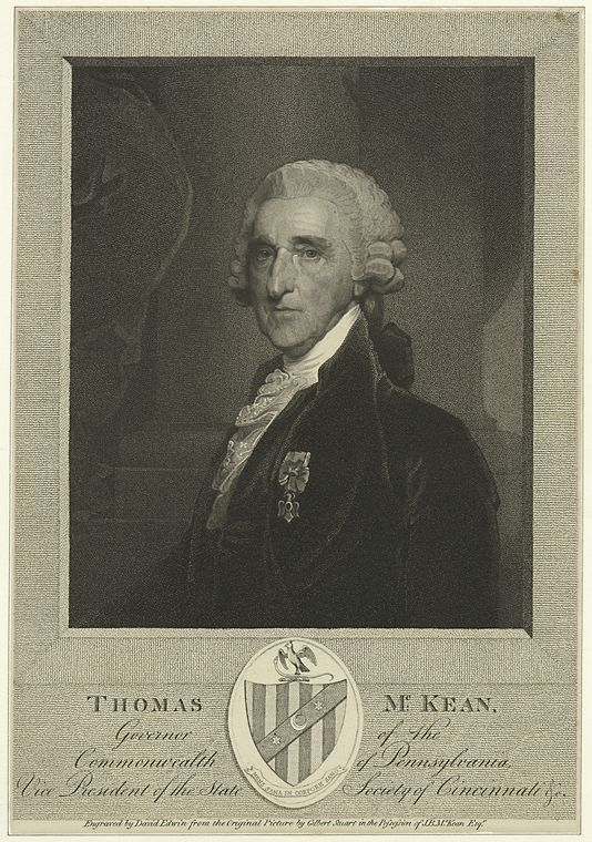 This is What Thomas McKean Looked Like  in 1820