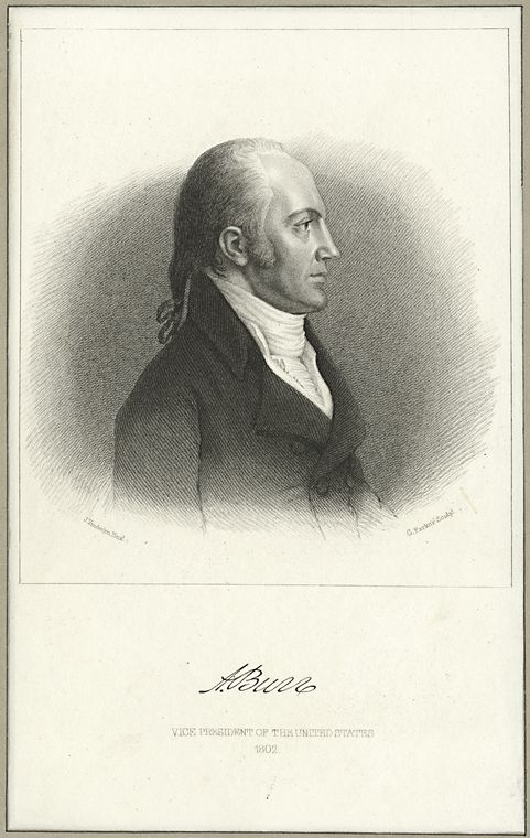 Fascinating Historical Picture of Aaron Burr in 1798