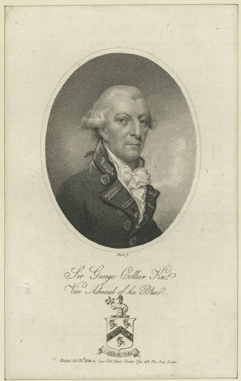 Fascinating Historical Picture of George Collier in 1814
