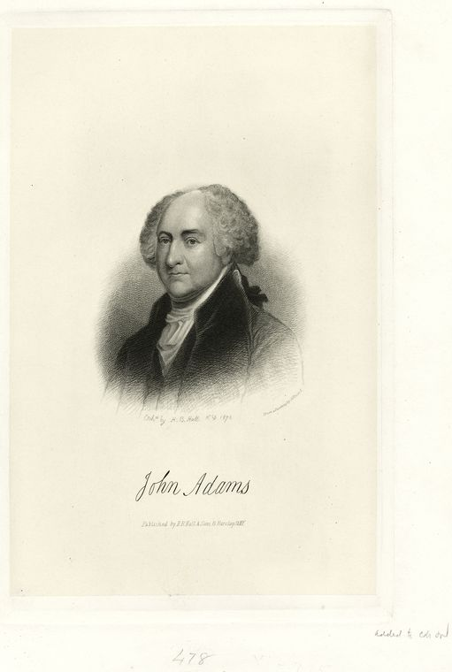 This is What John Adams Looked Like  in 1876