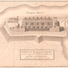 A view of Niagara Fort, taken by Sir William Johnson, on the 25th of July 1759, drawn on the spot in 1758.