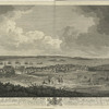 Part of the town and harbour of Halifax in Nova Scotia...