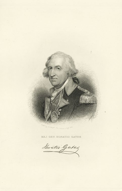 Fascinating Historical Picture of Horatio Gates in 1780