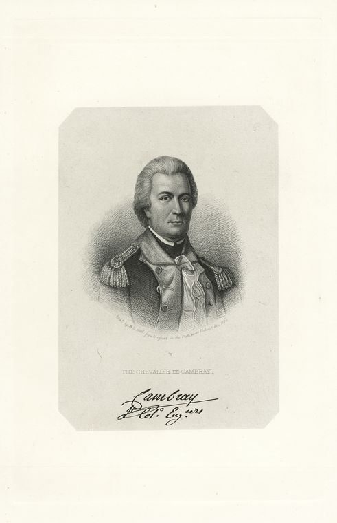 Fascinating Historical Picture of Cambray, Chevalier de in 1778