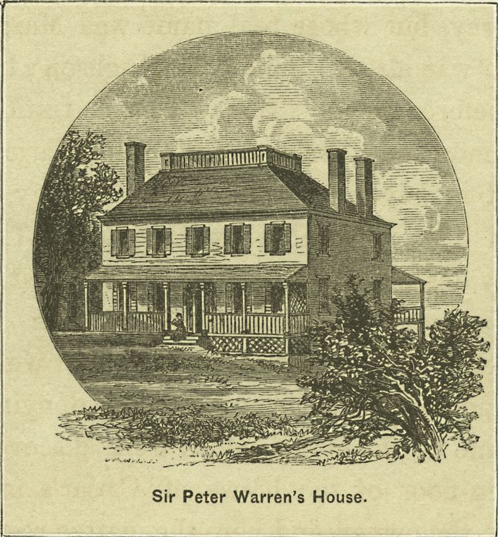 Sir Peter Warren's house
