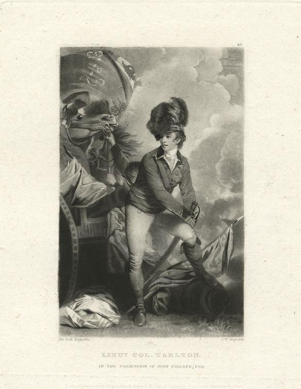 Fascinating Historical Picture of Tarleton, Lieutenant-General in 1780