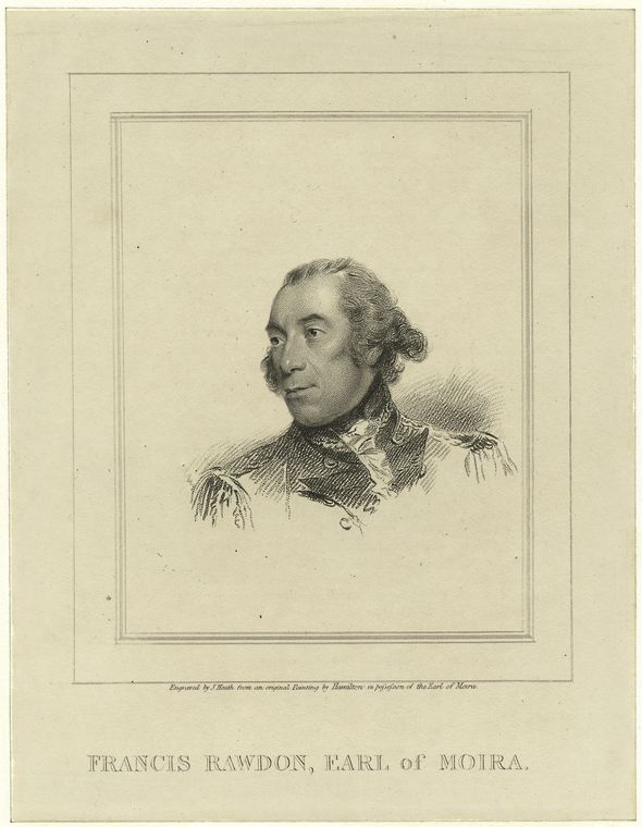 Fascinating Historical Picture of Francis Rawdon-Hastings Hastings in 1780