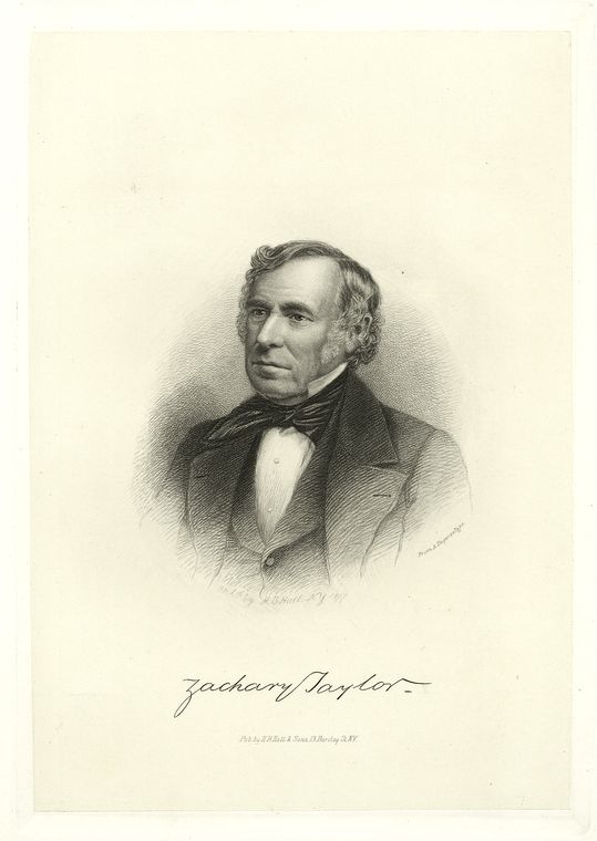 This is What Zachary Taylor Looked Like  in 1877
