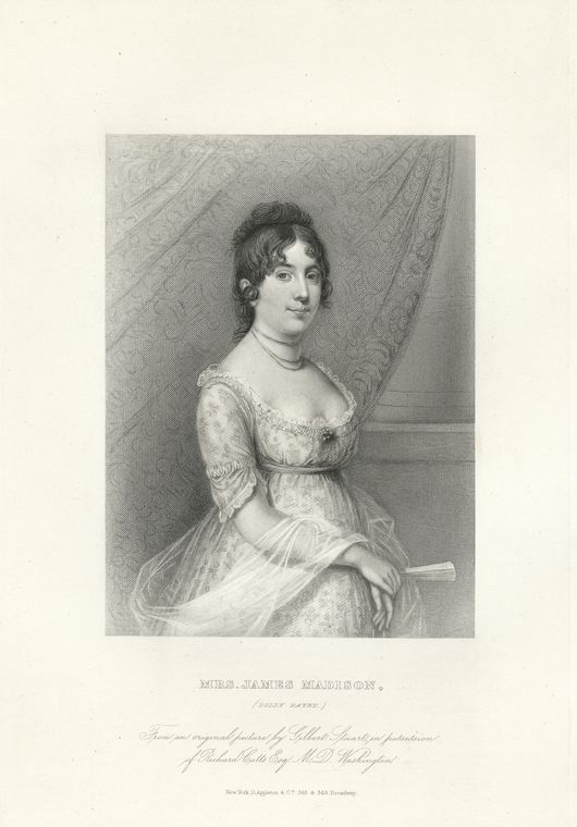 Fascinating Historical Picture of Dolley Madison