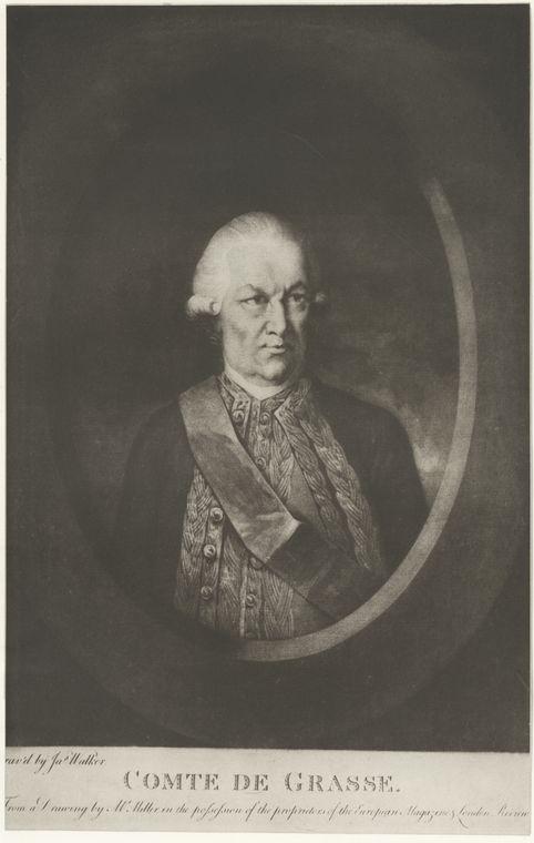 Fascinating Historical Picture of Francois Joseph Paul de Grasse Grasse in 1778