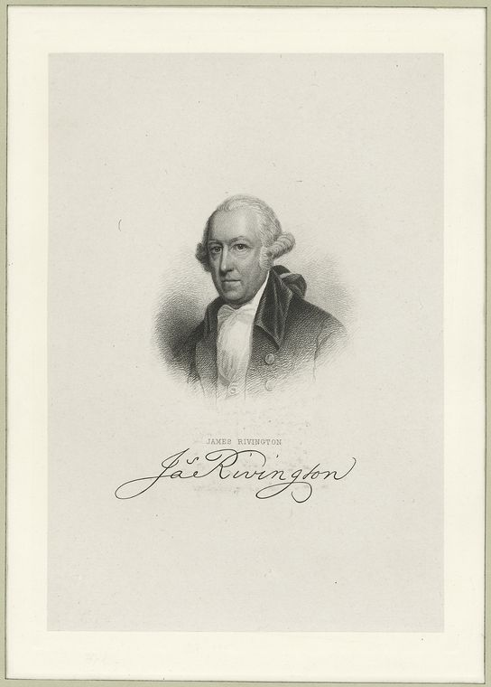 This is What James Rivington Looked Like  in 1775