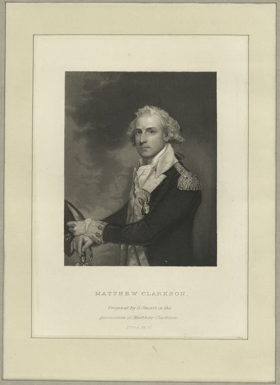 Fascinating Historical Picture of Matthew Clarkson in 1775