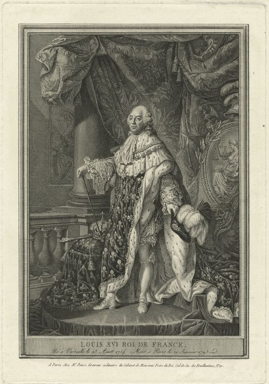 Fascinating Historical Picture of King of France Louis XVI in 1778