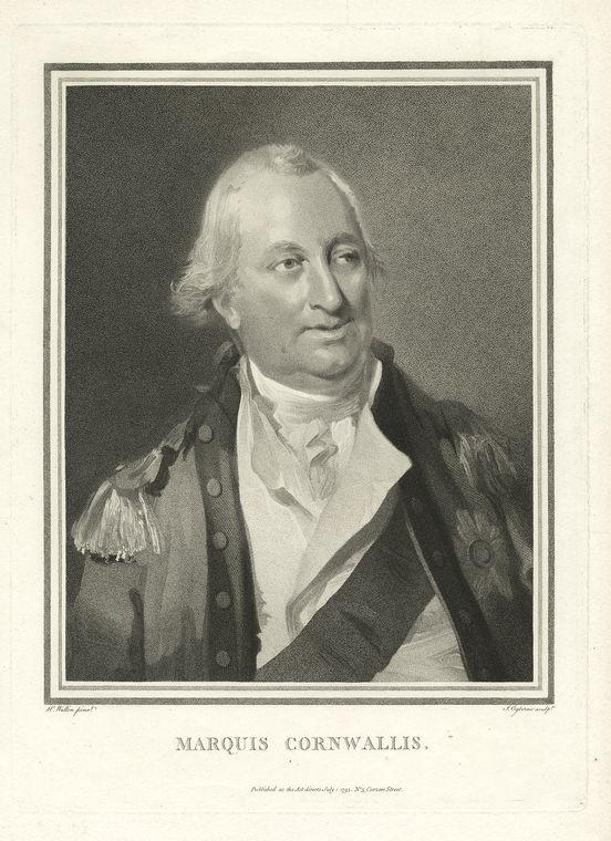 Fascinating Historical Picture of Charles Cornwallis Cornwallis in 1775