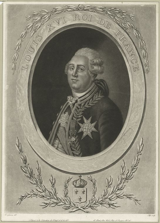 Fascinating Historical Picture of King of France Louis XVI in 1775
