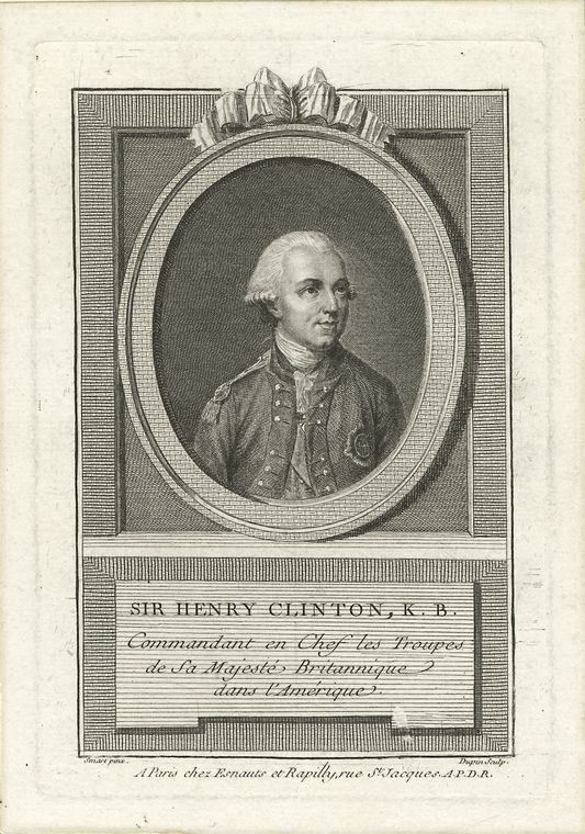 Fascinating Historical Picture of Henry Clinton in 1760