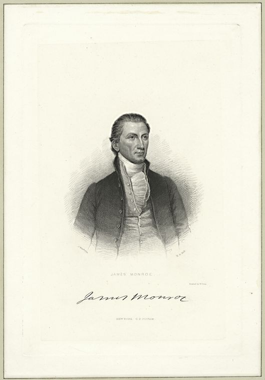 This is What James Monroe Looked Like  in 1810