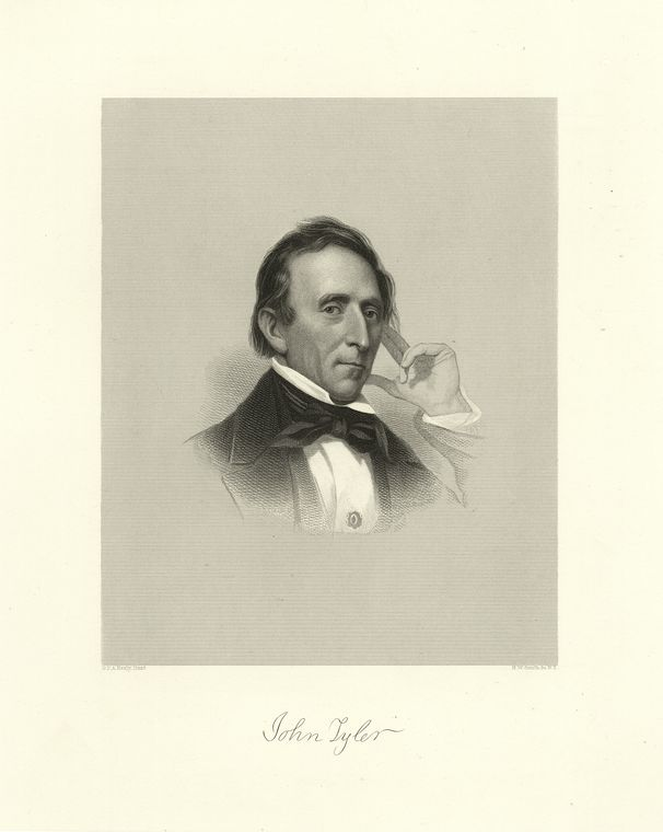 Fascinating Historical Picture of John Tyler in 1810