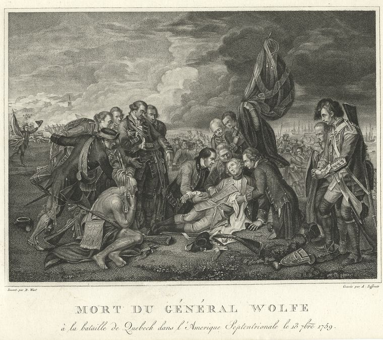 Fascinating Historical Picture of James Wolfe in 1760