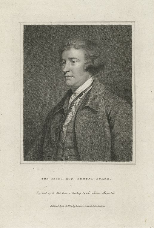 Fascinating Historical Picture of Edmund Burke in 1760