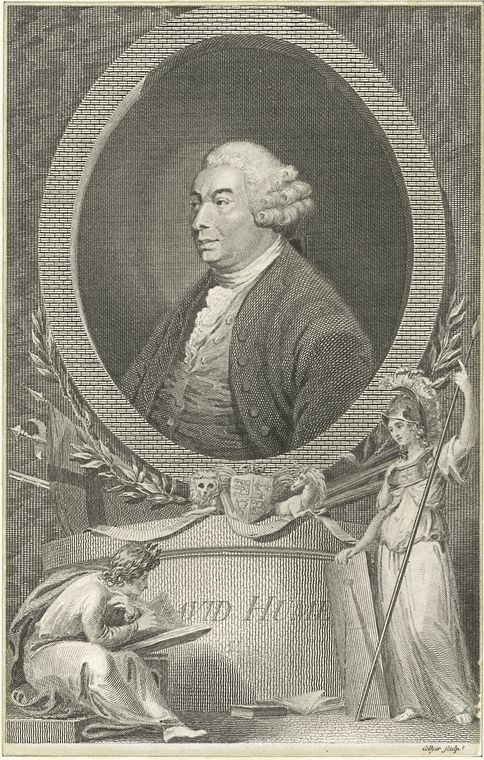 Fascinating Historical Picture of David Hume in 1760