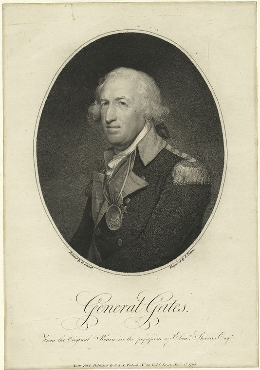 Fascinating Historical Picture of Horatio Gates in 1775