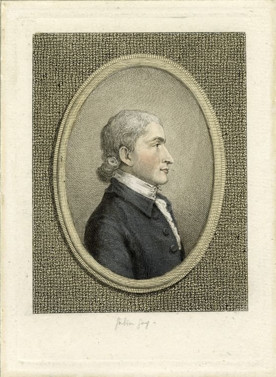 This is What Pierre Eug?ne Du Simiti?re and John Jay Looked Like  in 1783