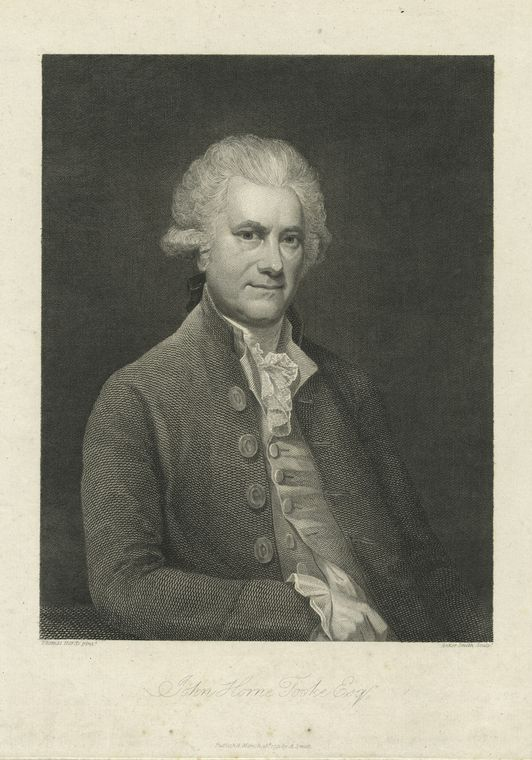 Fascinating Historical Picture of John Horne Tooke in 1791