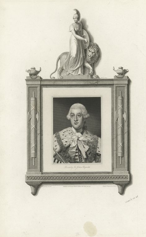 This is What King of Great Britain George III Looked Like  in 1795