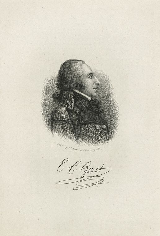 Fascinating Historical Picture of Edmond Charles Genet in 1775
