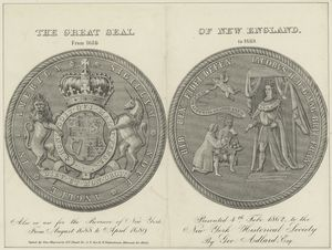 The great seal of New England from 1686 to 1689 / Geo. Hayward