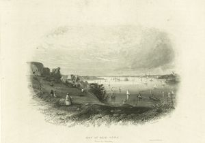 Bay of New York (from the Narrows) / Beckwith