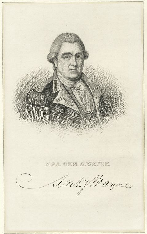 This is What Anthony Wayne Looked Like  in 1770