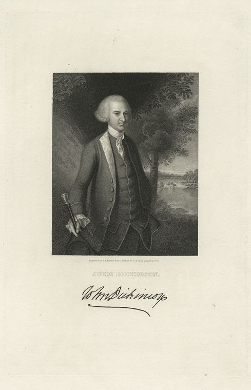 Fascinating Historical Picture of John Dickinson in 1783