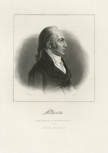 A. Burr Vice President of the United States / J.A. O'Neill