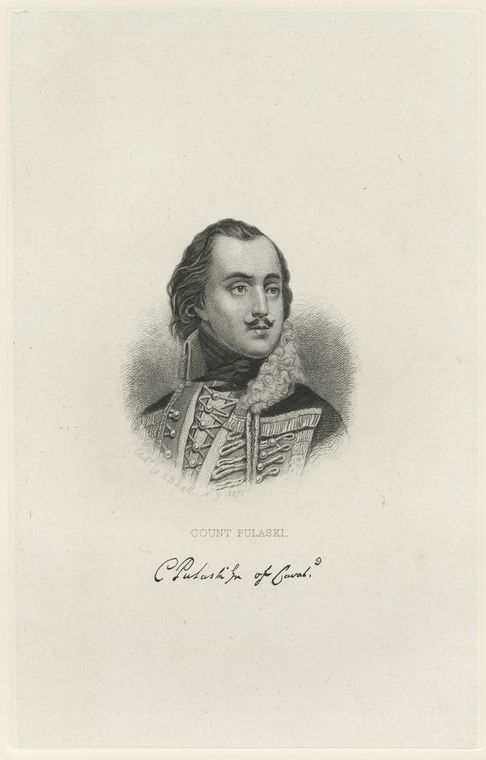 Fascinating Historical Picture of Kazimierz Pulaski in 1778