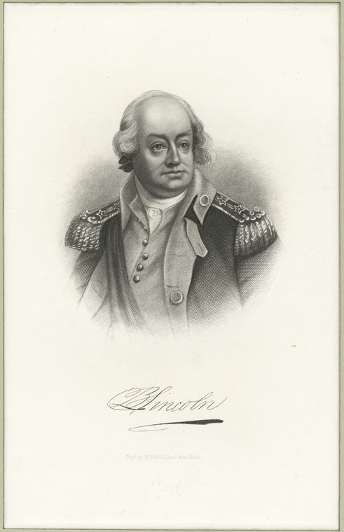 Fascinating Historical Picture of Benjamin Lincoln in 1778