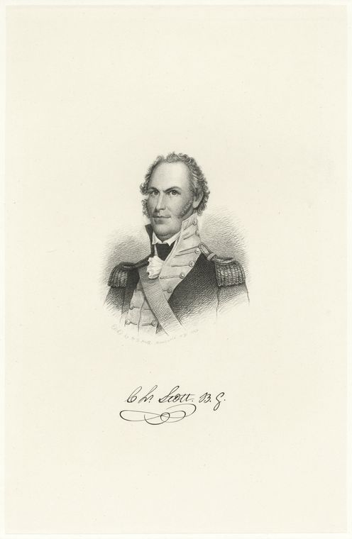 Fascinating Historical Picture of Charles Scott in 1778