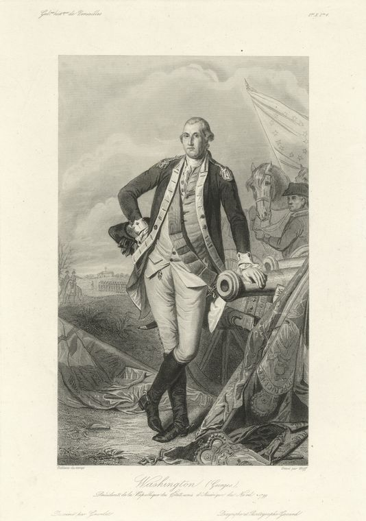 Fascinating Historical Picture of George Washington in 1778