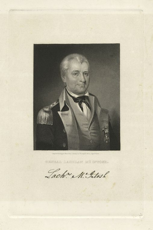 Fascinating Historical Picture of Lachlan McIntosh in 1775