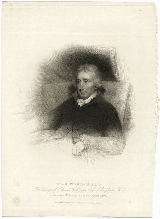 Fascinating Historical Picture of Adam Ferguson in 1775